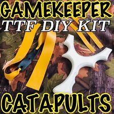 KIT (C) GAMEKEEPER CATAPULTS DIY TTF SLINGSHOT KIT! TOP QUALITY BLANK & BANDSET
