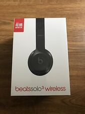 BRAND NEW Factory Sealed Beats by Dr. Dre Solo3 Wireless Headphones Gloss Black