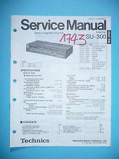 Service Manual für Technics SU-300 ,ORIGINAL
