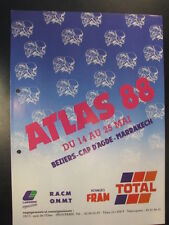 Brochure Atlas Rally 14 - 25 Mai 1988 (Marokko)