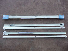 "NEW 24"" SIDE MOUNT LIBERTY DRAWER SLIDES 2 PACK KITCHEN CABINETS WHITE D66324C"