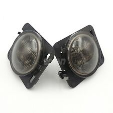 2pcs Front Side Smoke Turn Amber LED Light for JEEP Wrangler Parking 4W 3000K