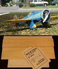 "67.5"" Ws Boeing P-26A PEASHOOTER Rc Plane short kit/partial kit & plans PLS READ"