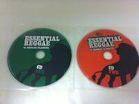 Essential Reggae 42 Reggae Classics (2 Discs) Music CD - DISCS ONLY in Sleeves