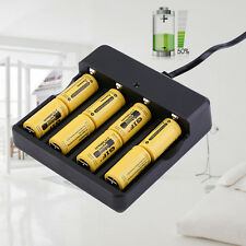 8X 3.7V CR123A 16340 2800mAh GTL Rechargeable Li-Ion Battery + 4 slot charger US