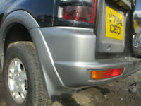 MITSUBISHI SHOGUN PAJERO 3.2 DID PASSENGER  SIDE REAR SILVER SWB 1999 - 2003