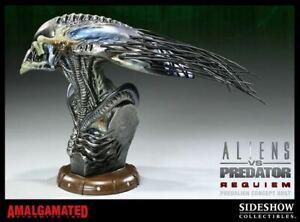 [NEW] Super Rare  AVP  Alien Vs Predator Requiem PredAlien Concept Bust  /250