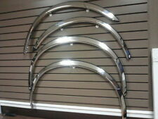 """1997-2003 Ford F150 2dr 2"""" wide Chrome Wheel Well opening Moldings Fender Trim"""