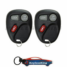 2 Replacement for Chevrolet S10 - 2001 2002 2003 2004 1xt Keyless Entry Remote