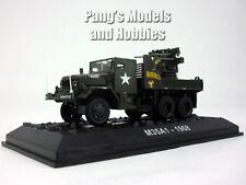 M35A1 Quad Gun Truck 1/72 Scale Diecast Model  by Amercom