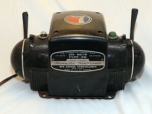 Lionel Type ZW Transformer 275 Watts Partially Works, Parts or Repair