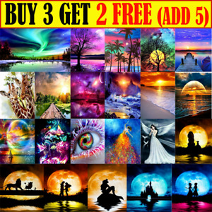 Diamond 5D Painting Embroidery Cross Craft Stitch Pictures Art Kit Mural Decor Y