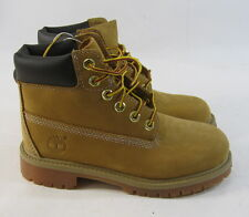"NEW Timberland Youth 6"" Wheat Leather Waterproof 12709 Ankle Hiking Boot 1 Y"