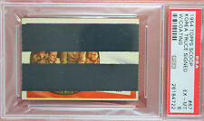 RARE 1954 TOPPS SCOOPS w/coating KOREA TRUCE SIGNED #67 PSA 6