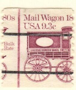 US EFO Scott #1903 9.3c single mail Wagon used  Major Misperf!