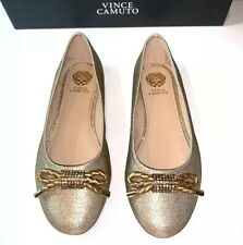 Vince Camuto Girl's Penelope Fashion Slip-On Ballet Flats Shoes - Nib- Size:11