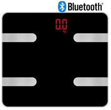 Bluetooth Smart Digital Body Weight Fat BMI Bone Analysis Scale for iOS Android