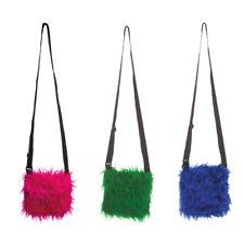 Tasche aus Plüsch Fell, Plüschtasche für Freizeit und als Kostüm Accessoire