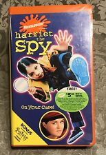 1996 Nickelodeon Harriet The Spy On Your Case VHS Clamshell Case