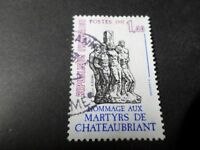 FRANCE 1981, timbre 2177, MARTYRS CHATEAUBRIAND, oblitéré, VF STAMP