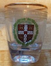University of Cambridge shot glass, Sights of Britain by Sampson's Gift