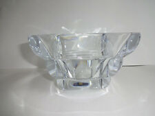 "Rogaska Crystal Square Adria Bowl Centerpiece Clear H 4"" W 5-3/4"" No. 40004526"