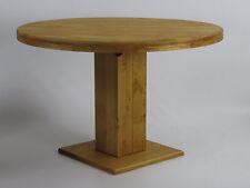 Säulentisch Rio Kolonial Pinie massiv Holztisch rund 100 cm Esstisch Tisch Hotel