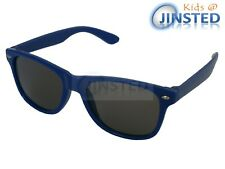 Childrens Blue Frame Sunglasses Kids Shades Childs Sunnies Tinted Lens KR011