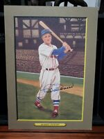 BOBBY DOERR Perez Steele Great Moments HOF Real Signed Autograph 6x8 Red Sox