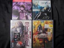 Anime DVD Lot DEATH NOTE 1 & GANKUTSUOU 1 SEALED Final Fantasy VII Lain Navi 1