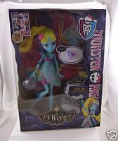 NEW in box Monster High doll 13 wishes Lagoona Blue daughter of sea monster matt