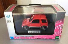 VINTAGE#1996 Mitsubishi Pajero Mini 1/43 M-Tech EPOCH Made in Japan Red#NIB