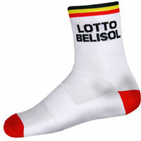 41-43 3 pairs Cuore IAM Cycling Team 15cm Unisex Ankle Socks Black White Size M