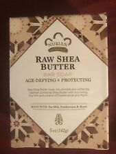 BRAND NEW LOT OF 1 NUBIAN HERITAGE RAW SHEA BUTTER 5oz BAR SOAP
