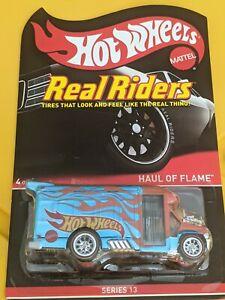 Hot Wheels real riders Haul a flames series 13
