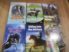 6 Pony Club Horse Books for Teens Pre Teens Hardcover  good condition  (b)