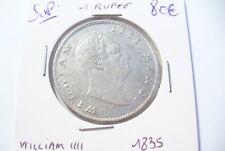 MONNAIE  ARGENT  INDE BRITANNIQUE - 1 RUPEE   1835    -  A VOIR
