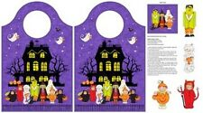 Northcott Happy Halloween by Jill Dobson 21195 84 Bag Panel BTY Cotton Fab