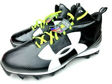 Under Armour 1286600-001 UA Armour Crusher RM Football Cleats Size 16