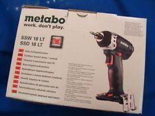 >> Metabo 60219685 Akku-Schlagschrauber SSD 18LT Ohne Akku + LadeGerät