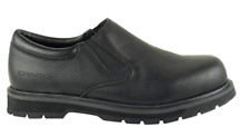 CHINOOK Black MANAGER SLIP-ON Slip-Resistant BOOTS Work SHOE ~ 8.5