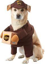 UPS DOG COSTUME Hunde Kostüm Mantel Lustig - SIZE Large
