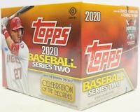 2020 Topps Series 2 HTA Jumbo Factory Sealed Hobby Baseball Cards Box