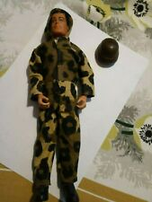 """Strike Force 12"""" Tank Squadron Fully Jointed Action Man Figure Camo"""