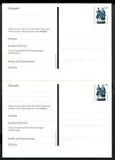 BRD Postfach Mitteilung PFK 4 Ib Paar zusamenhängend ungebraucht