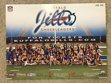 Buffalo Bills 2008-09 Buffalo Jills Original 9 x 12 Photo