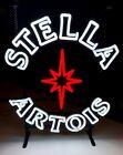 Stella Artois Lighted Beer Sign LED Light Up Game Room Man Cave Bar Pub