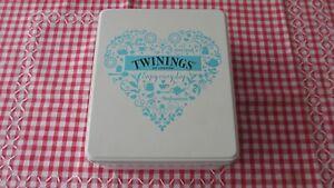 Twinings Lady Grey Tea Tin,hinged lid
