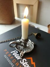 WEE WILLY WINKY Chamberstick  Chamber Candlestick and Snuffer Circa