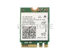 HP 806723-001 806723-005 Intel Wireless-AC 3165NGW NGFF Bluetooth WiFi Card Wlan